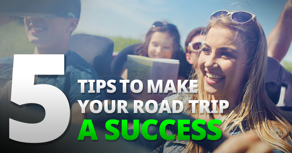 5 Simple Tips to Make Your Next Road Trip a Safety Success