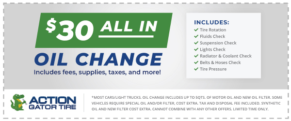 $30 All in Oil change Offer