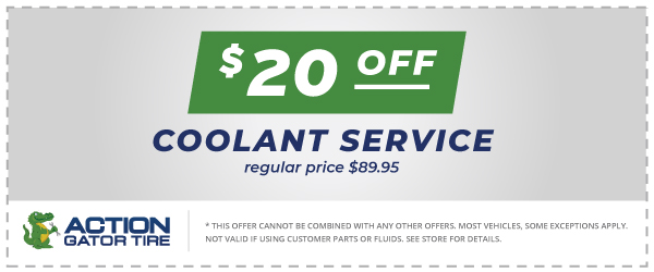 $20 Off Coolant Service Offer