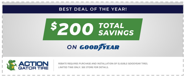 Best Deal of the Year with Goodyear! Offer