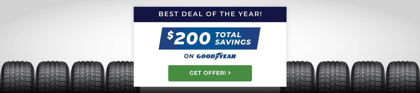 Goodyear- Buy 4