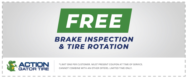 Free Brake Inspection & Tire Rotation Offer