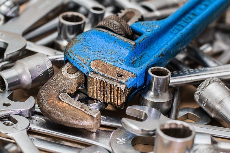 Pile of Metal Tools
