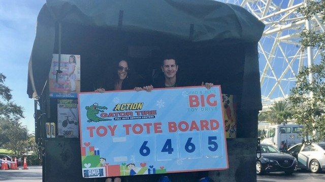 Chad & Jill's Big Toy Drive